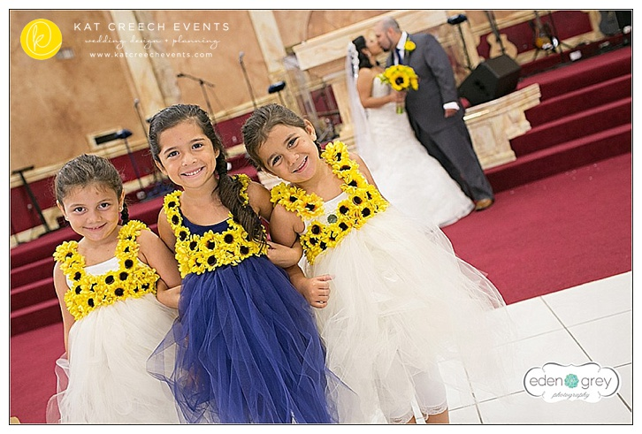 Navy and Yellow Wedding at The Admiral Room