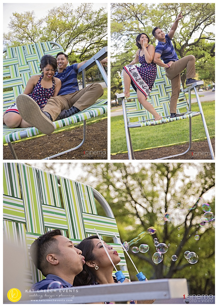 pinwheel engagement shoot at the Heights, Houston