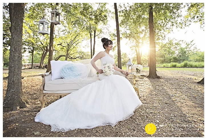Bridal Portraits chaise lounge