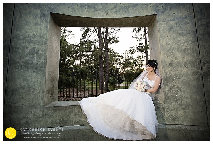Bridal Portraits window