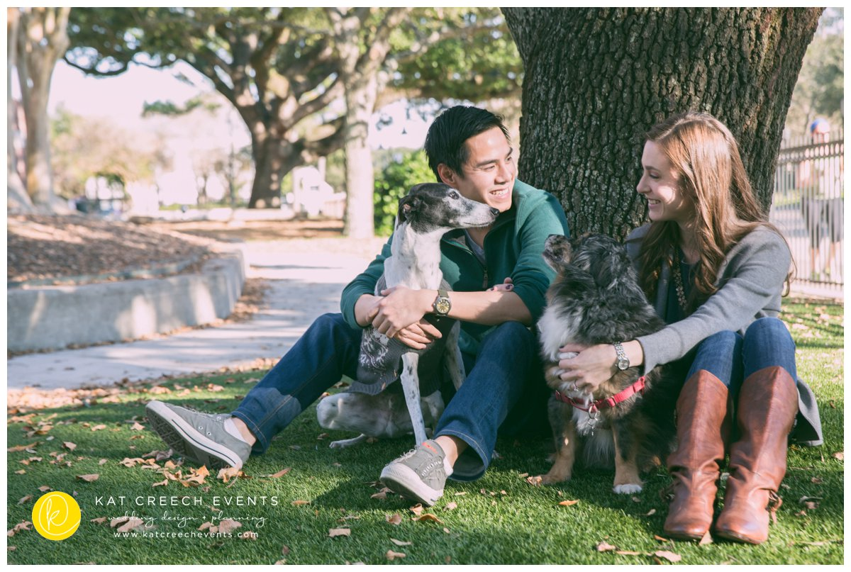 houston engagement shoot
