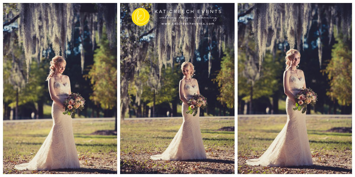 moss |wedding dress |bouquet