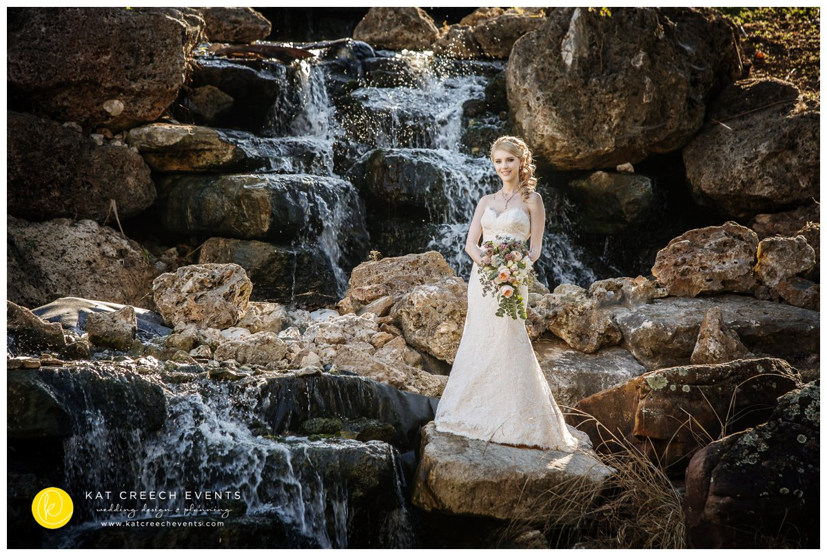 water fall |bridal session |event planner