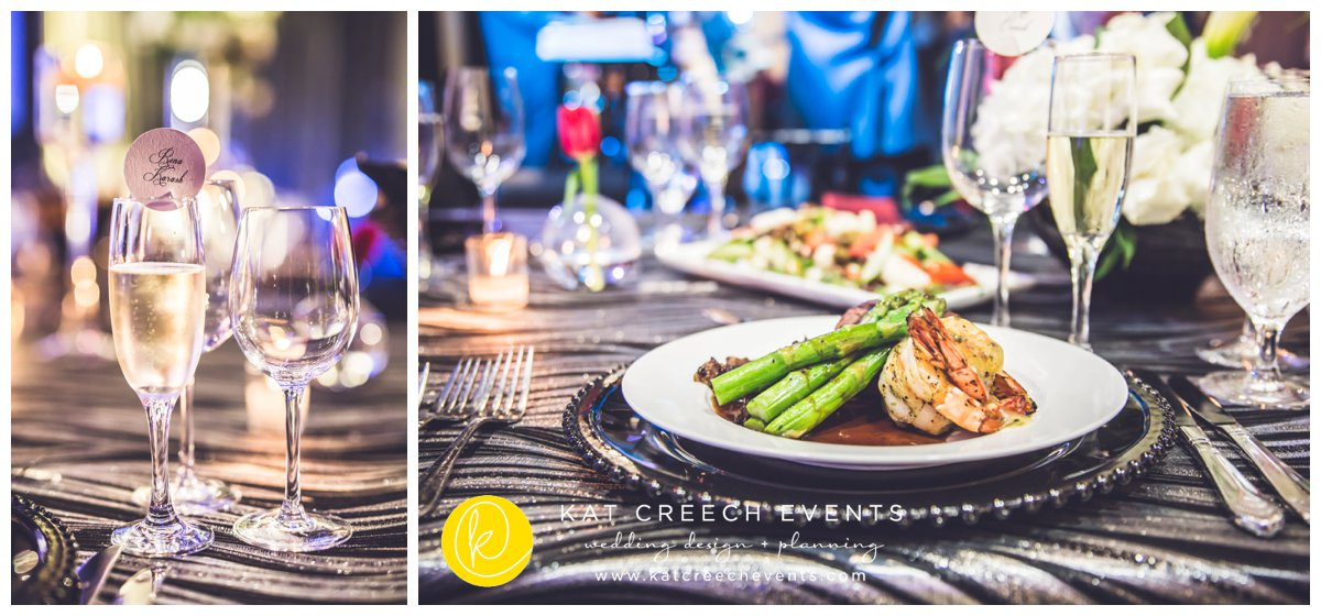 event catering | unique place cards | culinary inspiration