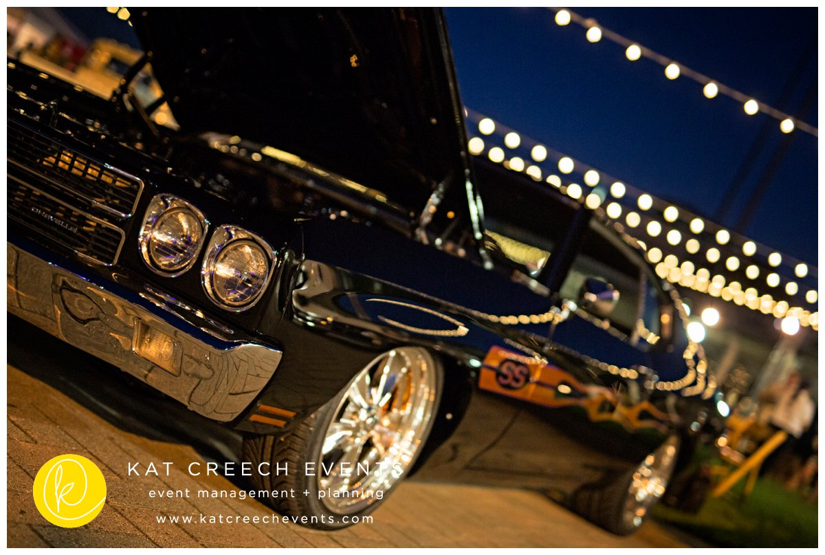 vintage cars | outdoor event | event planner