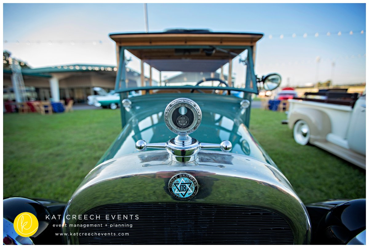 classic cars | corporate event | outdoor event