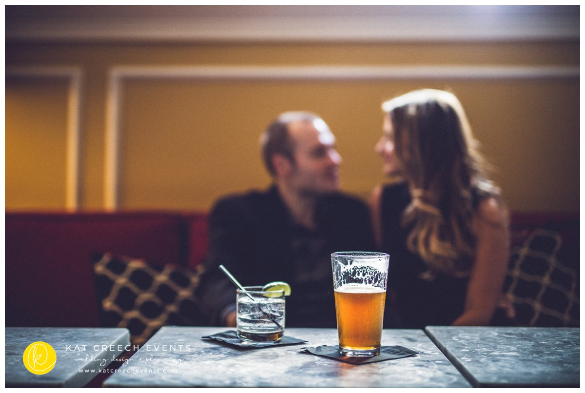 Downtown Houston Engagement Session | Hotel Icon | Kat Creech Events