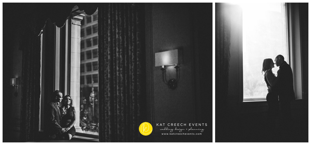 Engagement Session | Hotel Icon | Kat Creech Events