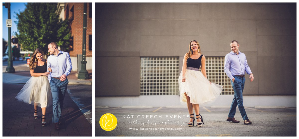 Urband Engagement Session | Kat Creech Events