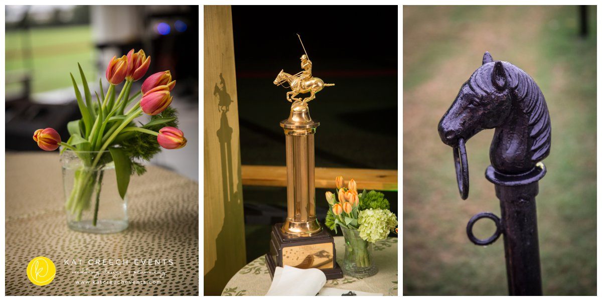 tulips | houston polo club | polo club wedding