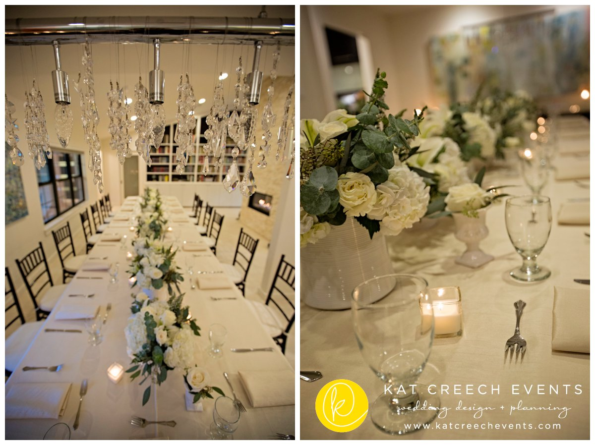 winter wedding | family style seating | wedding planner