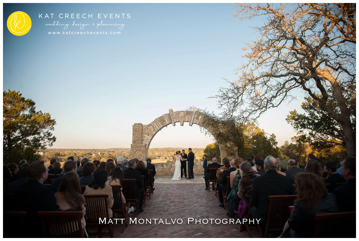 hill country wedding | texas wedding |outdoor ceremony | wedding ceremony | kat creech events |wedding planner