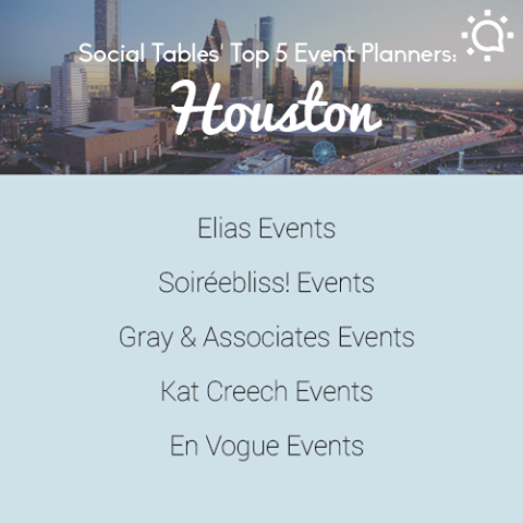 best planners in Houston by Social Tables