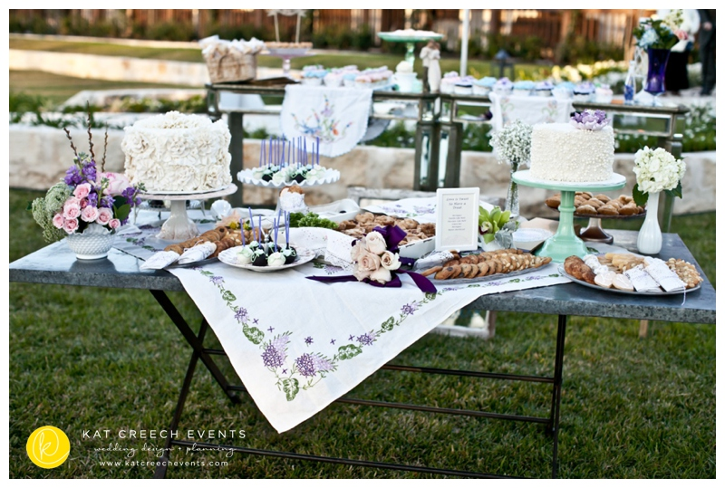 wedding dessert buffet