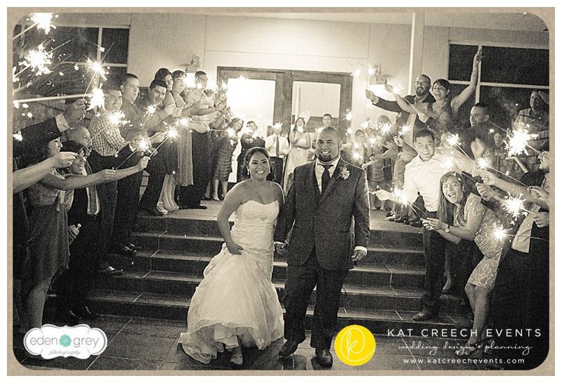 Gladis + Phillip have so much fun everywhere they go, but most especially at their navy and yellow wedding celebration at The Admiral Room.