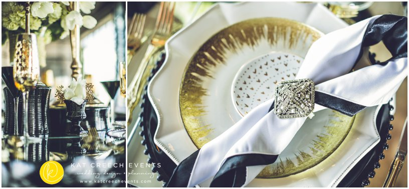Weddings In Houston Magazine Art Deco Style Shoot
