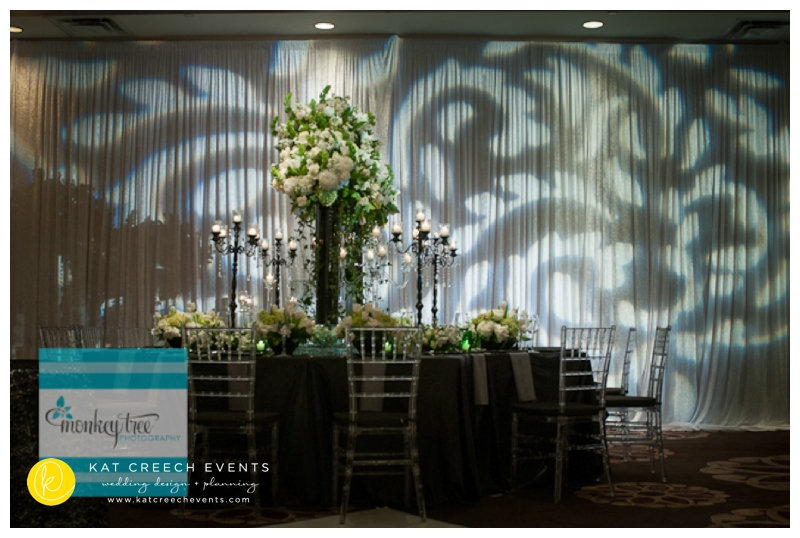 centerpiece and lighting design