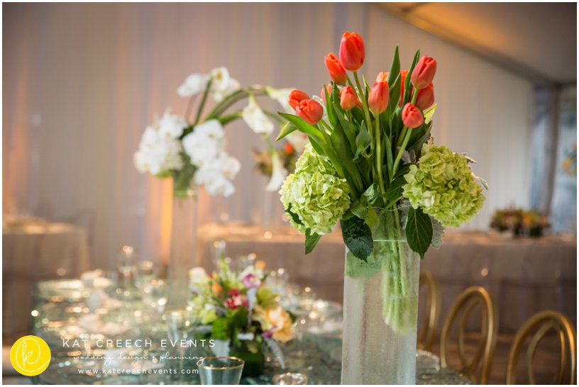tulips | hydrangeas | wedding floral