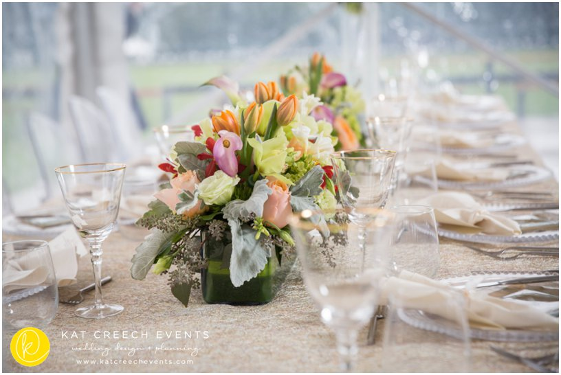 wedding table | wedding flowers | centerpiece