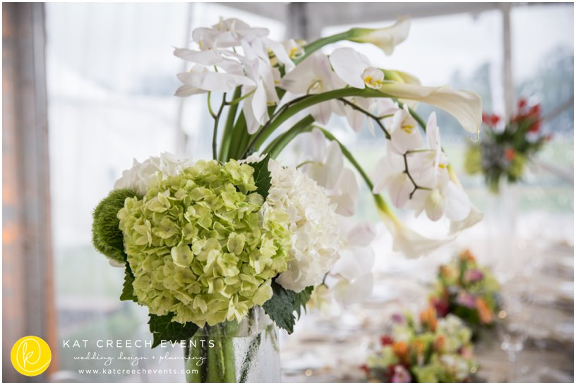 orchids | wedding floral | wedding centerpieces